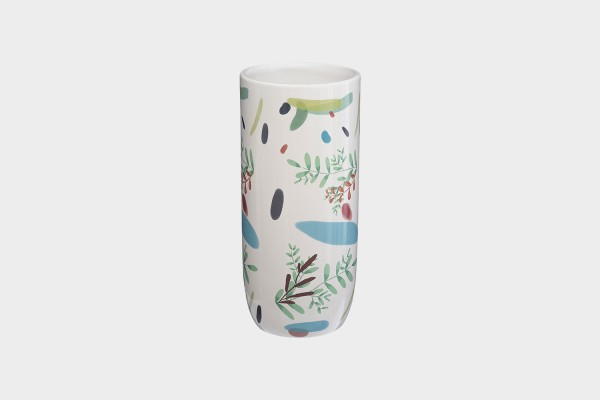 Water Color Tall Vase